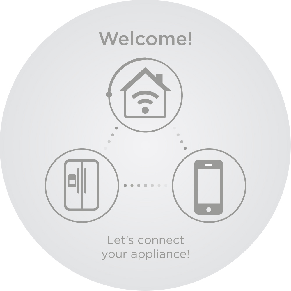 Preview of GE Appliances Wifi Connect smartphone app